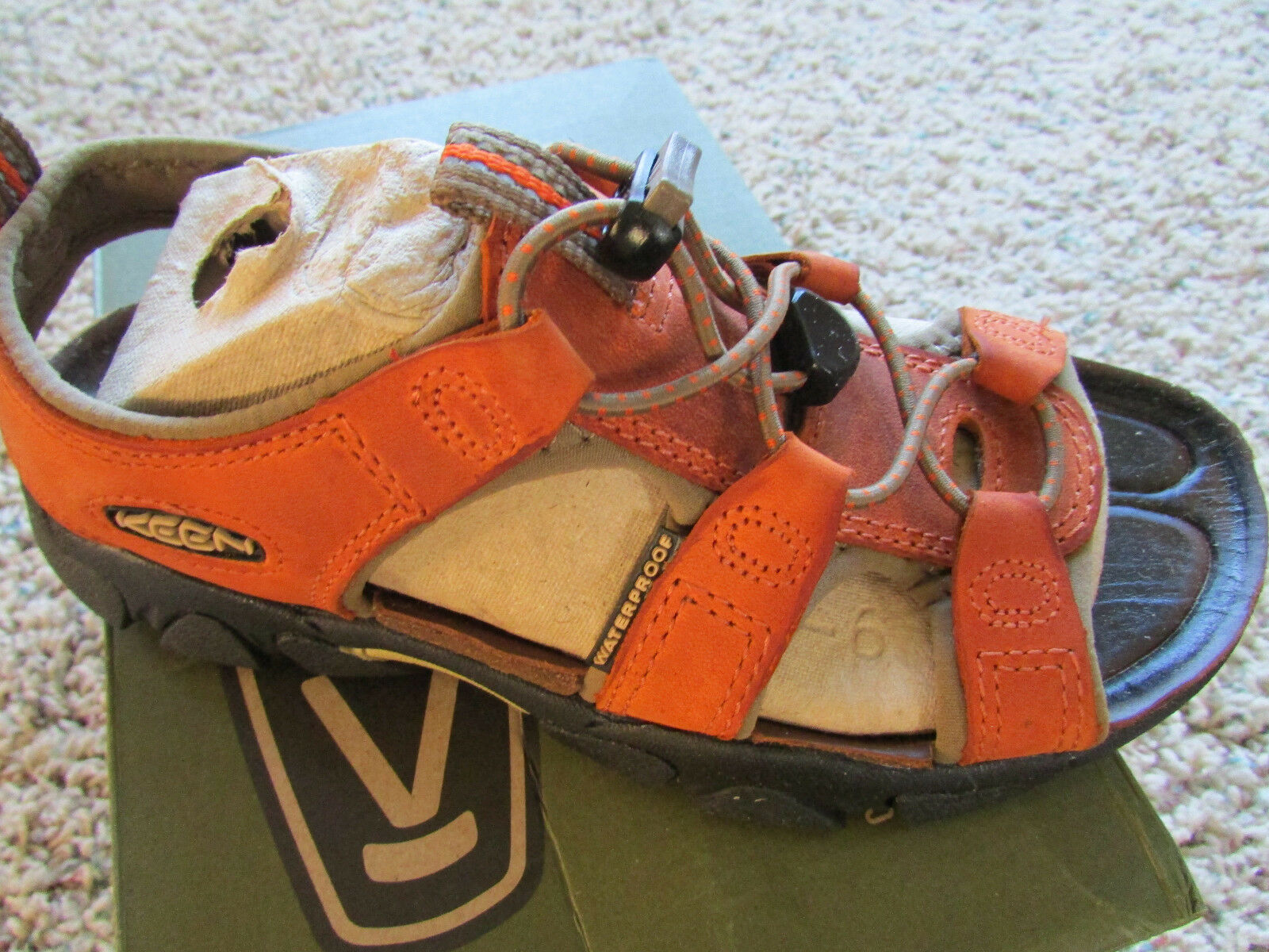 NEW KEEN SARASOTA SANDALS WOMENS 5 RUST SPORT SANDALS WATERPROOF