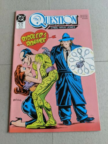 The Question #25 February 1989 DC Comics