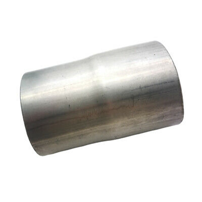 """to 60mm 2/"""" 3//8 Stainless Standard Exhaust Reducer Connector Pipe 63mm 2/"""" 1//2"""