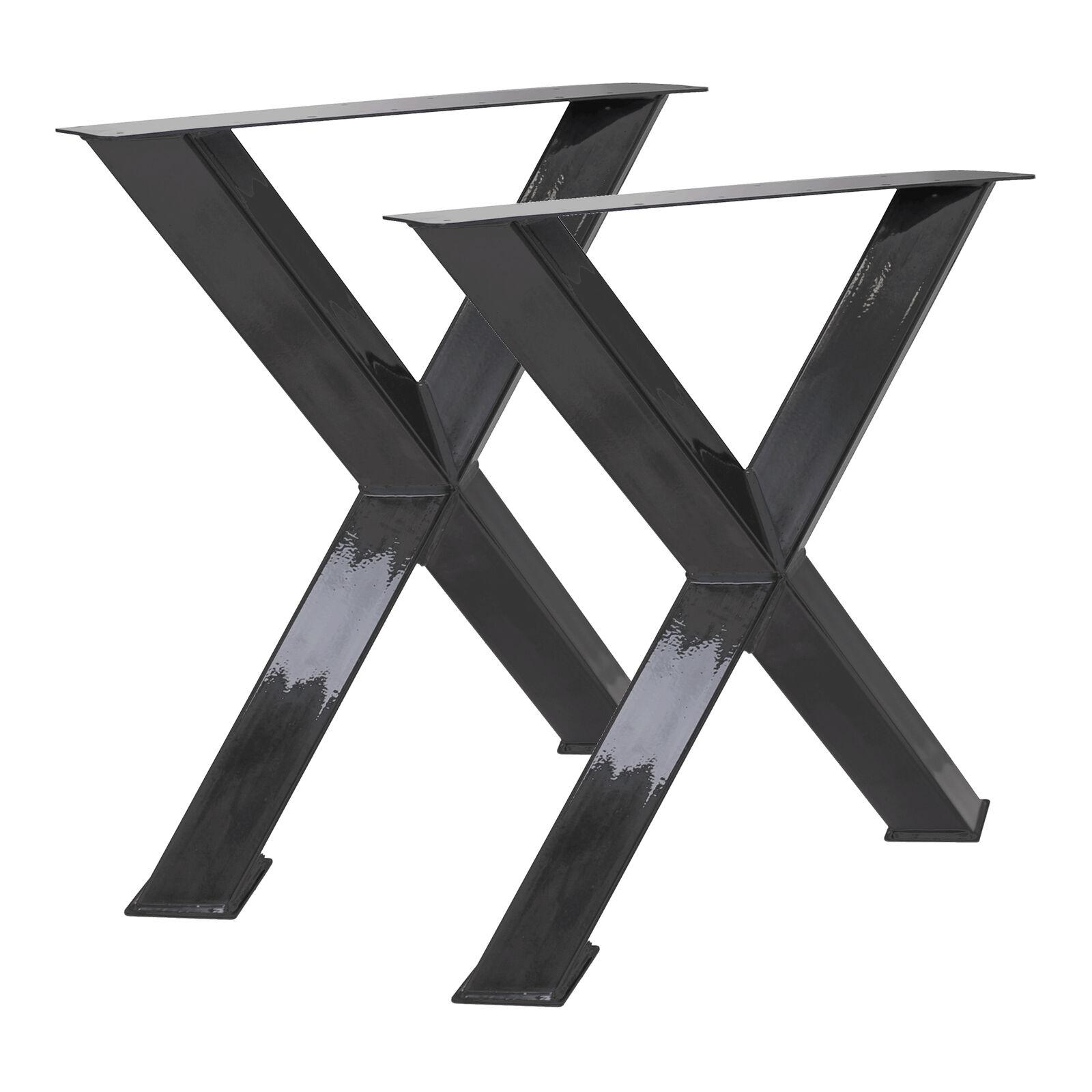 2x Tischbeine X 45° Angebot - Tischbeine Tischgestell Esstisch Esstisch Esstisch Industrial Stahl 11e70b