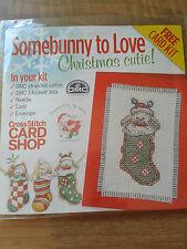 cross stitch kit SOMEBUNNY TO LOVE