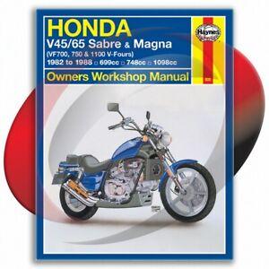 1983-1986-Honda-1100-Magna-Haynes-Repair-Manual-820-Shop-Service-Garage