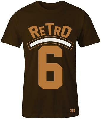 "/""Retro 6/"" T-Shirt to Match Retro Golden Harvest Wheat 6/'s"