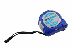 US PRO Tools Tape Measure 7.5 Meter / 25FT Grip Lock With Nylon Coating 9064
