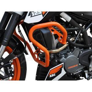KTM 125 Duke BJ 2017-19 Sturzbügel Schutzbügel Schutz Verkleidung orange
