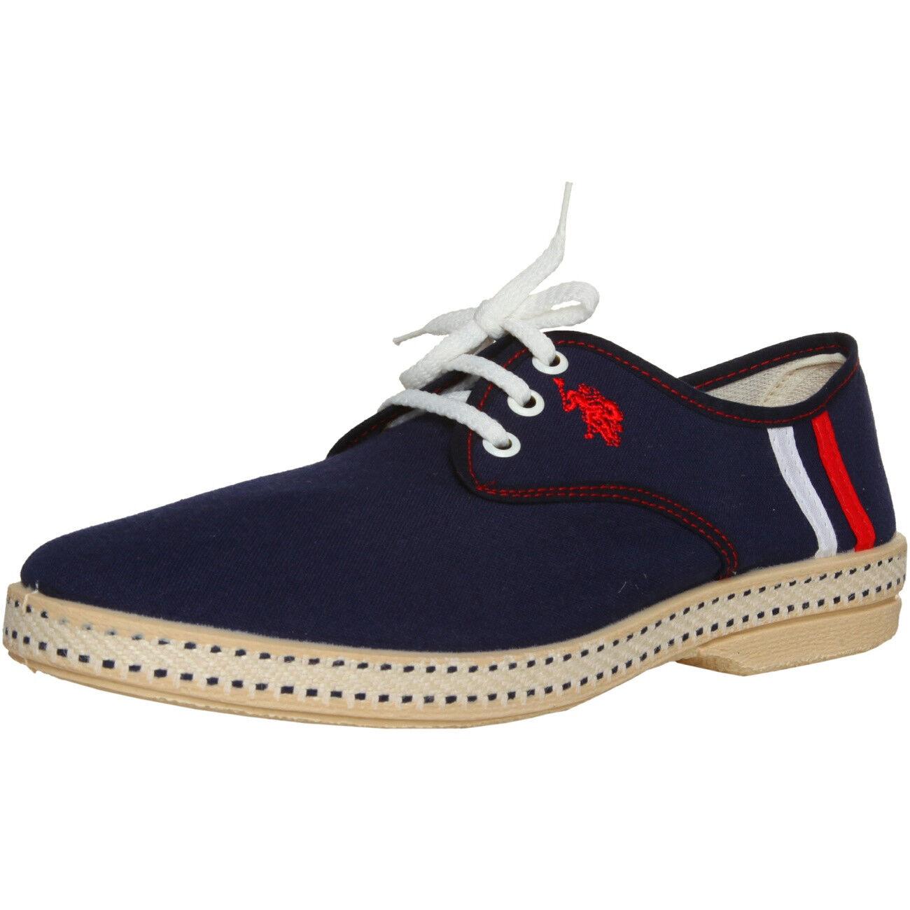 Scarpe casual da uomo U.S.POLO Ibiza Uomo Pantofola Sneakers Scarpe Basse Blue, Eu 41 42 45