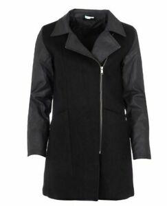 ADIDAS NEO WOOL Long Jacke Mantel Winterjacke Jacke Damen Gr