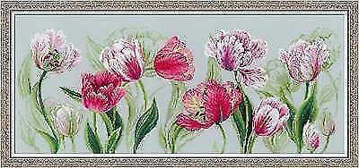 SPRING TULIPS Counted Cross Stitch Kit RIOLIS