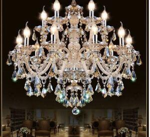 Image Is Loading Crystal Pendant Chandelier  Living Room Home Lighting Indoor