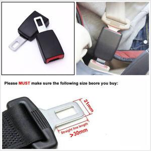 2-Pcs-Car-Vehicle-Seat-Belt-Socket-Extender-Metal-Seatbelt-Tongue-Buckles-Clips