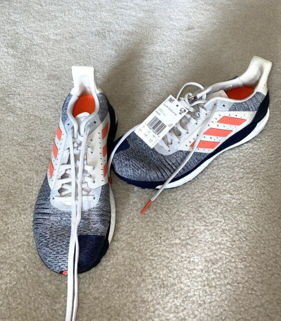 Brand New Men's Adidas Solar Glide ST BOOST Running Shoes B96287 Size 10.5