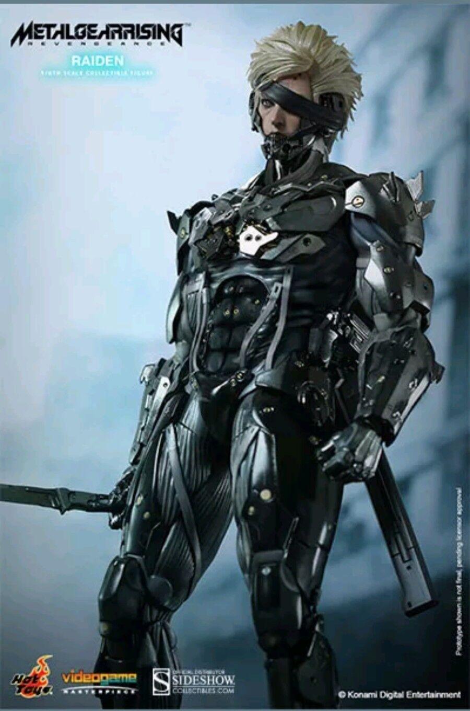 Hot Toys Raiden Metal Gear Rising Revengeance 1 6 Scale Figure Video Game Snake