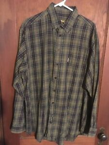 014f36ef70f2a Details about Men's Barbour Tartan Long Sleeve shirt (Extra Large)