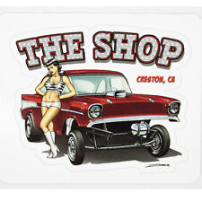 Zombie Hot Rod Wear Pin Up Chevy Gasser Hot Rod Muscle Aufkleber Sticker Decal