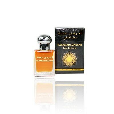HARAMAIN MAKKAH 15ML BY AL HARAMAIN  (ARABIAN PERFUME OIL/ ATTAR/ ITR/