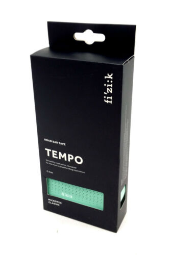 Fizik Tempo Classique Vélo De Route Bar Tape Microtex 2 mm Bianchi Vert