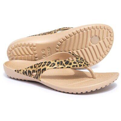 Crocs Kadee Flip Flops Ladies Lightweight Everyday