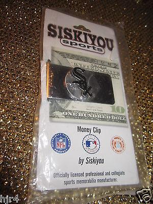 Umoristico Chicago Bianco Sox Mlb Silver Denaro Fermasoldi Nuovo