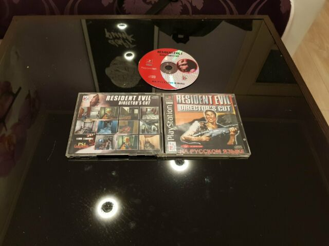 Resident Evil Director's Cut (Sony PlayStation 1, 1997, In Russian)