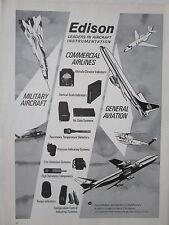 1/1973 MC GRAW EDISON AIRCRAFT INSTRUMENTS INDICATOR AIR DATA SYSTEMS TORQUE AD