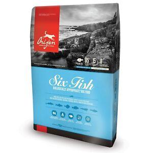 ORIJEN Six Fish Dry Dog Food (4.5 lb)