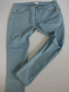Sheego-Ladies-Jeans-Trousers-Stretch-Size-40-to-58-058-Light-Blue-Tone-New