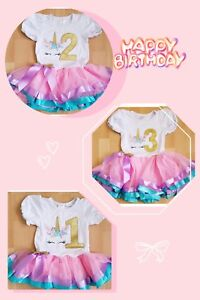 Unicorn-Baby-Girl-Birthday-Party-Outfit-Dress-Gold-1year-to-3-year-old