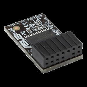 ASUS TPM-M R2.0 Module   Windows 11   Security Card   14-1 pin   90MC03W0-M0XBN1