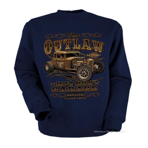 * Sweatshirt Hot Rod Kustom Garage Vintage car automotiv  *1247 ny