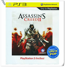 PS3 Assassin's Creed II 2 AC2 SONY PlayStation Games Action Ubisoft