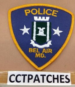 BEL AIR MARYLAND MD POLICE PATCH