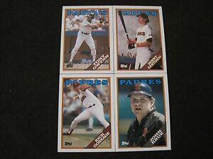 1988-Topps-Baseball-SAN-DIEGO-PADRES-TEAM-SET-Gwynn-Gossage-Kruk-Santiago