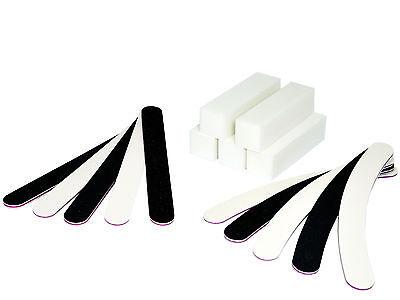 Nagelfeilen Buffer Schleifblock Set Gelnägel Acrylnägel 100 180 Feile Nägel