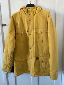CARHARTT-Fleece-Lined-Mentor-Parka-Jacket-Yellow-Large