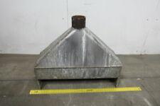 34 Hood Stainless Steel Fume Exhaust Hood Vent Vacuum
