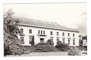 1950's RPPC BERKELEY CA CALIFORNIA HALL UC VINTAGE REAL PHOTO POSTCARD OLD NICE