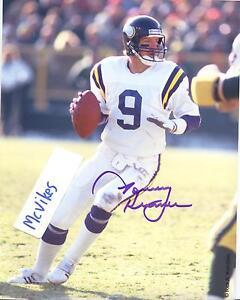 Image is loading Tommy-Kramer-Minnesota-Vikings-Autographed-Signed -8x10-Photo- 3e8ff53b3