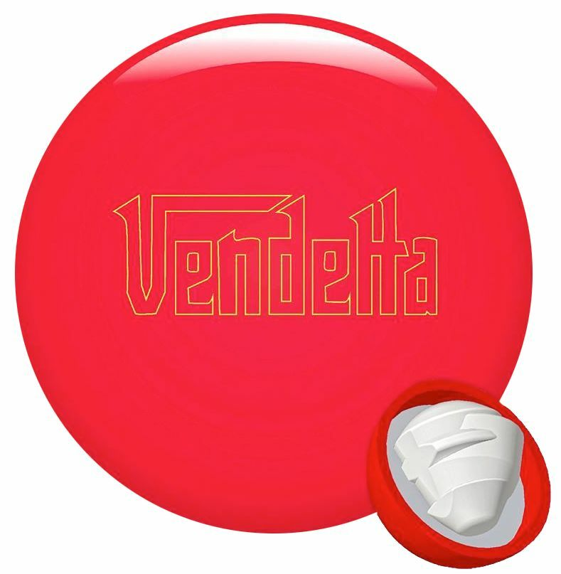 15lb Dyno-Thane Vendetta Red Bowling Ball Fast Shipping New Release