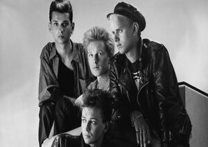 Depeche-Mode-23-Photo-English-Electro-Rock-Band-Picture-Vintage-Music-Poster