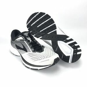 61fed8def7c77 Brooks Men s Launch 5 White Black Running Shoes Size 13 190340329777 ...