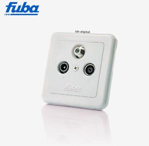 fuba sat antennen dose gad 300 3 loch 3 fach sat tv radio unterputz full hd tv ebay. Black Bedroom Furniture Sets. Home Design Ideas