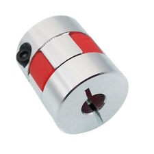 Us Stock 635 14x8mm Cnc Flexible Plum Coupling Shaft Coupler Connect D25 L30