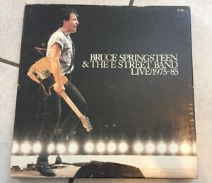 Bruce-Springsteen-amp-The-E-Street-Band-Live-1975-85-5-LP-s-COLLECTORS-SET-RARE