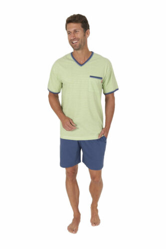 Messieurs Shorty Pyjama Pyjama ProKlima V-cou pantalon court 56708
