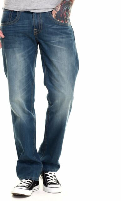 New Levi's Mens 514 Regular Straight Fit Double Stitch Denim Jeans 28 29 30 31
