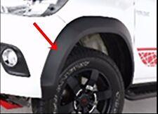 GENUINE TOYOTA HILUX REVO M70 80 2016 DOUBLE CAB BLACK FENDER FLARES WHEEL ARCH