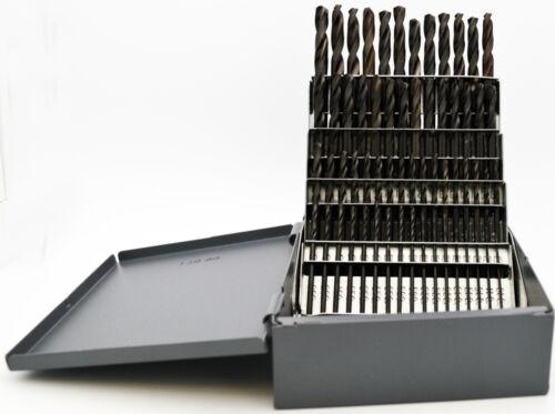#1 #60 Stub Length Black Drill Set 135°Point Quality USA RMT #95090876