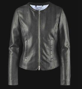 BOMBOOGIE-JW-RABY-Damen-Lederjacke-Jacke-Leatherjacket-schwarz-black-NEU-ETIKETT