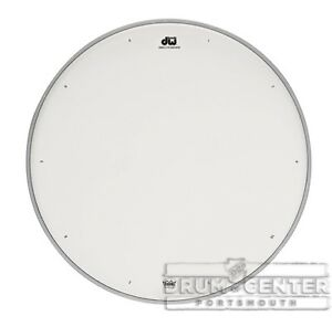 dw tom heads 14 inch double a coated snare drum head drdhacw14 647139287157 ebay. Black Bedroom Furniture Sets. Home Design Ideas