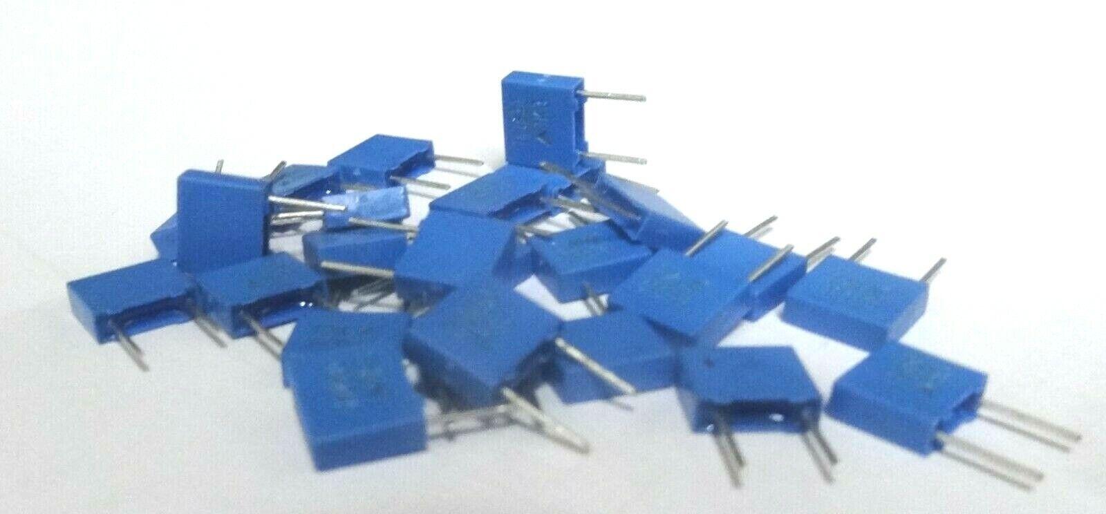 25x 1nf 5mm pitch 630v DC miniature polyester capacitor B32529C8102J 1000pf 102